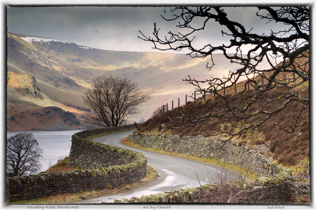 Winding Road, Haweswater
