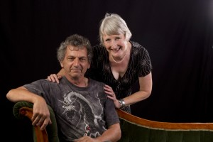 A photograph about us, Richard Harrison and Sue Kane taken at the Art By Camera Studio, Penrith
