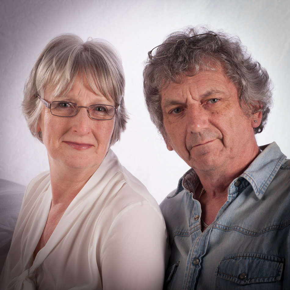 Photo of studio owners, Sue & Richard